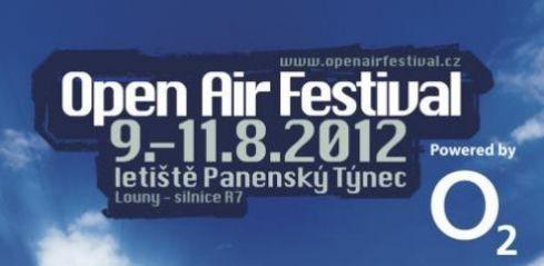 Open Air Festival 2012 – 9. až 11. 8. 2012